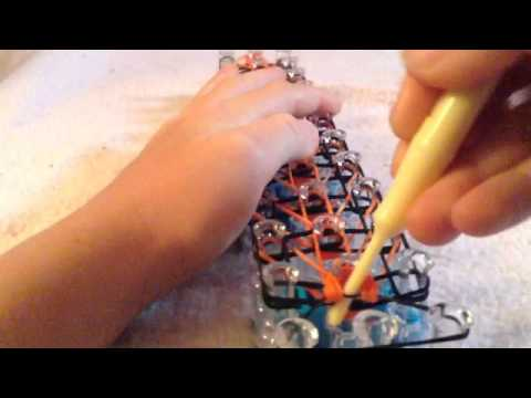 how to make a rainbow loom 3d tiger