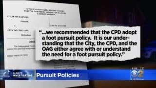 City To Review Foot Chase Policies
