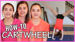 How To Do A Cartẁheel with TheCheernastics2!