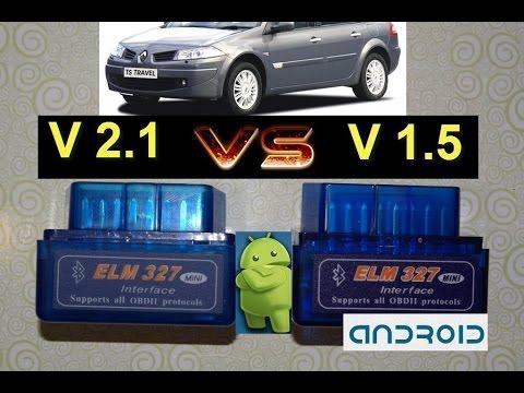 Диагностика автомобилей рено своими руками ELM327, V2.1-V1.5