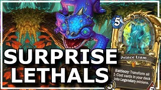 Hearthstone - Best of Surprise Lethals