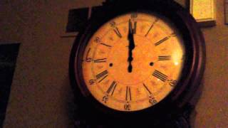 Howard Miller Grandfather Clock Chiming Midnight