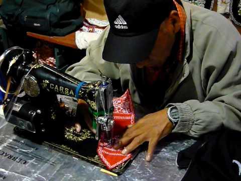 Tejido hecho a mano por artesano peruano youtube for Hecho a mano