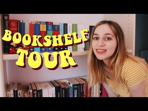 Όλα Μου Τα Βιβλία • BOOKSHELF TOUR 📚