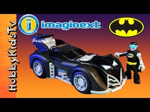 Imaginext Batman Batmobile FIGHTS Robin! Box Open Review Story Joker HobbyKidsTV