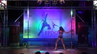 Karo Swen   Expert Pole   Emma's Pole Dancing Championship 2014