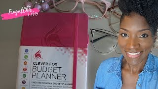 Clever Fox Monthly Budget Planner | First Impression Review | Easy Budgeting for Beginners