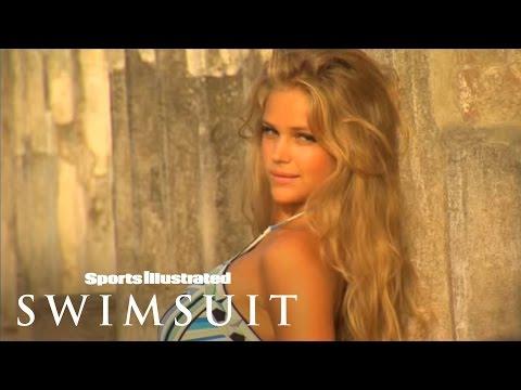 Watch Esti Ginzburg Get Wet In Naples | Sports Illustrated Swimsuit