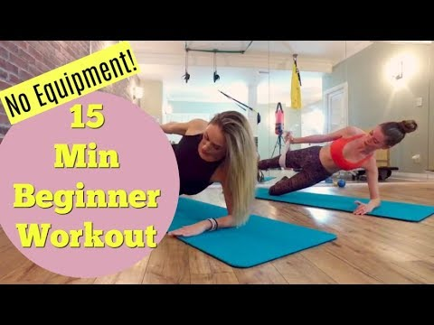 15 Minute Full Body Workout For Beginners | Quick Home Workout