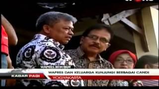 Berita Hari ini , Jusuf Kalla dan Keluarga Berlibur ke Berbagai Candi