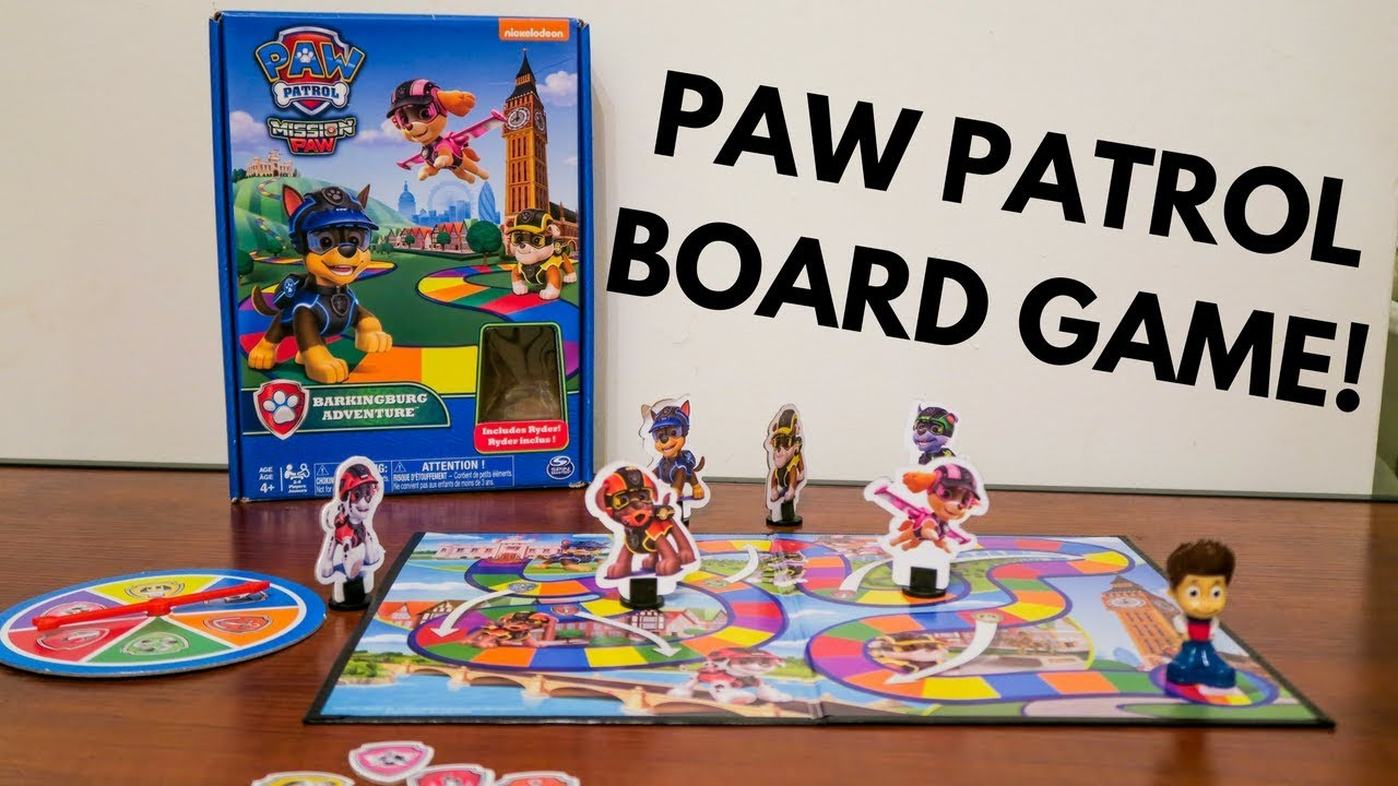 How To Play Paw Patrol Adventure Game Instructions