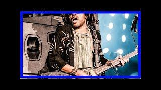 Lenny Kravitz: er feiert seine Tournee Eröffnung in München