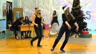 """Новогоднее выступление. Пародия на шоу """"Танцы""""."""