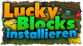 Minecraft 1.8 Lucky Block Mod installieren - Tutorial (German)