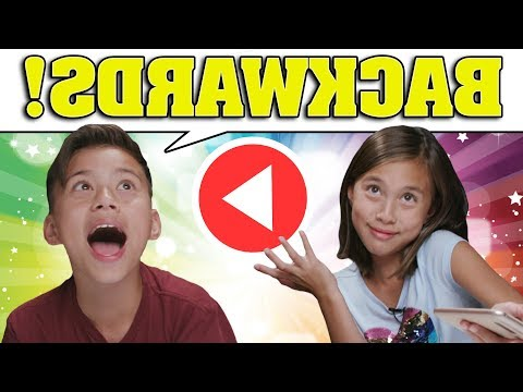 BACKWARDS WORD CHALLENGE!!! Say It Backwards!