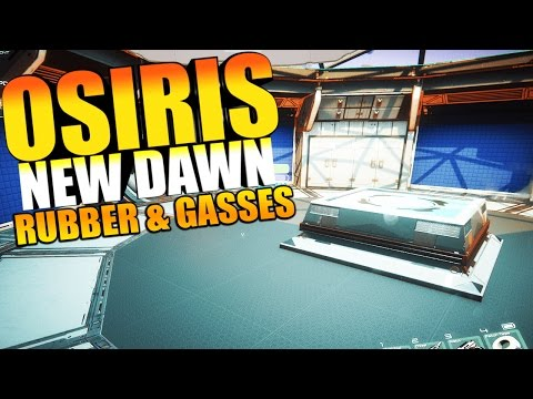 Osiris New Dawn - HYDROGEN, CHLORINE, RUBBER TREES & FABRICATOR #2 - Osiris Survival Gameplay