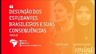 CONEHI 2021 | MESA II   Desunião dos Estudantes Brasileiros e suas Consequências