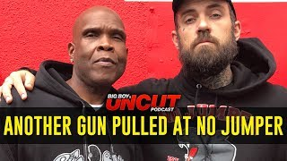 Big Boy Recalls Another Gunman Pulling Up While He Was On No Jumper w/ Adam22