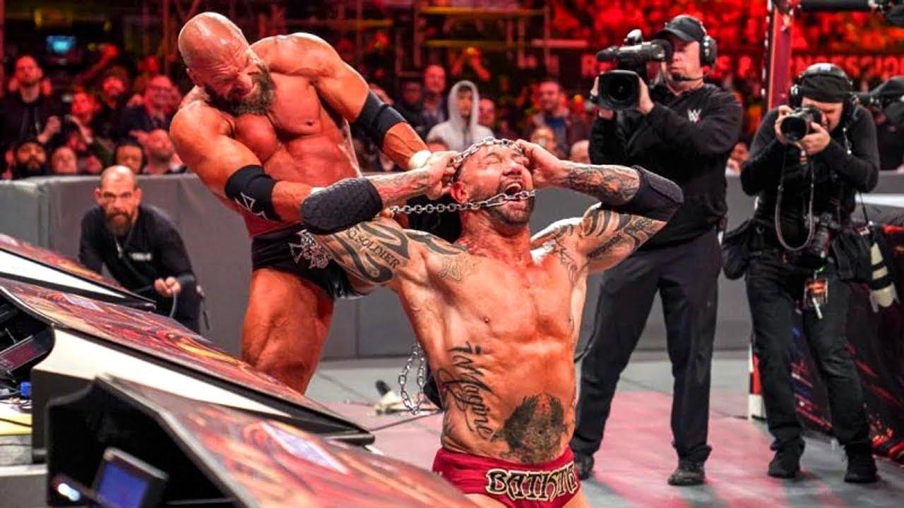 WWE के 5 सबसे खतरनाक लड़ाई I Top 5 Dangerous Fight in WWE History