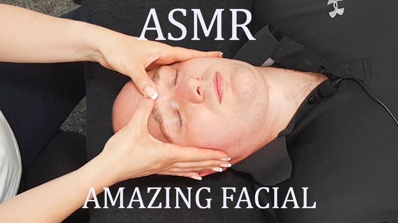 [ASMR] Amazing Facial Massage [No Talking] [No Music]