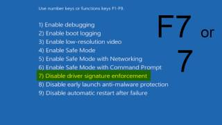 How To Disable Driver Signature Enforcement in Windows 10