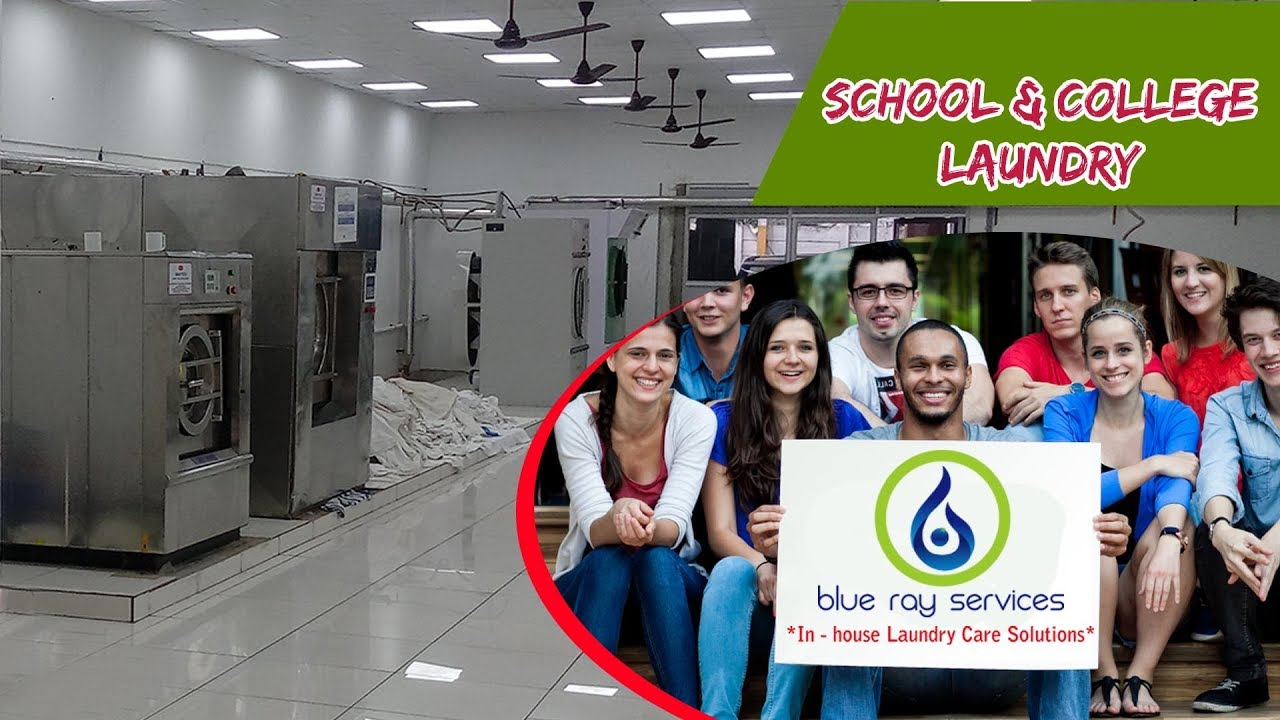 School And College Laundry Services in Hyderabad, Blue Ray