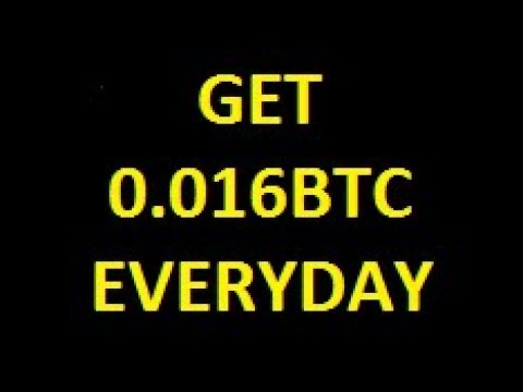 HOW TO EARN 0.016 BTC | $60 dollar money |  EVERYDAY | PAYMENT PROOF