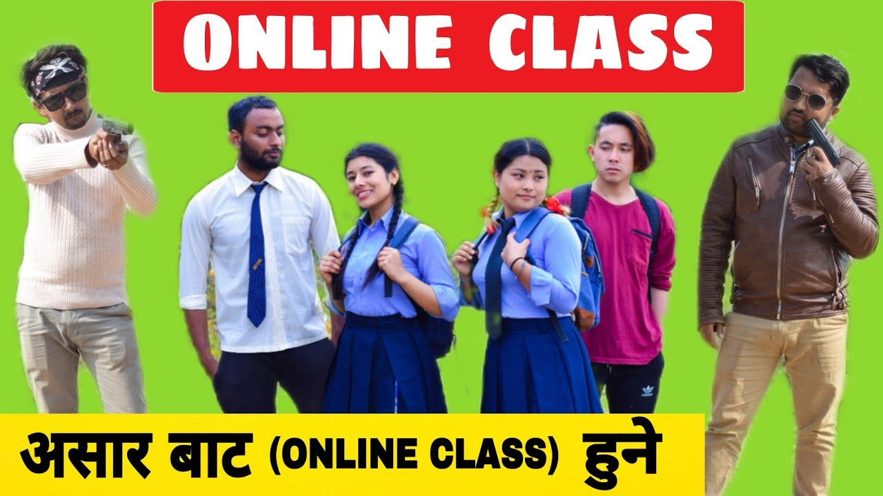 Online Class   Nepali Comedy Short Film    Local Production    June 2021