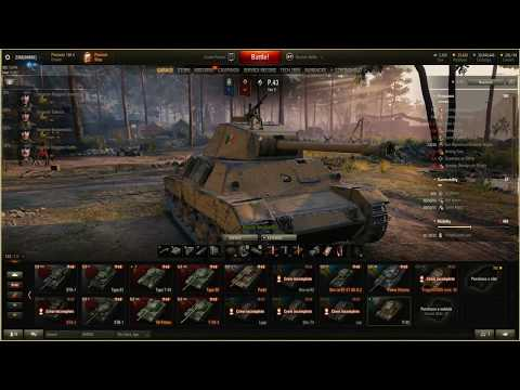 World Of Tanks. P.43 Tier 5 Italian. Review And Gameplay.