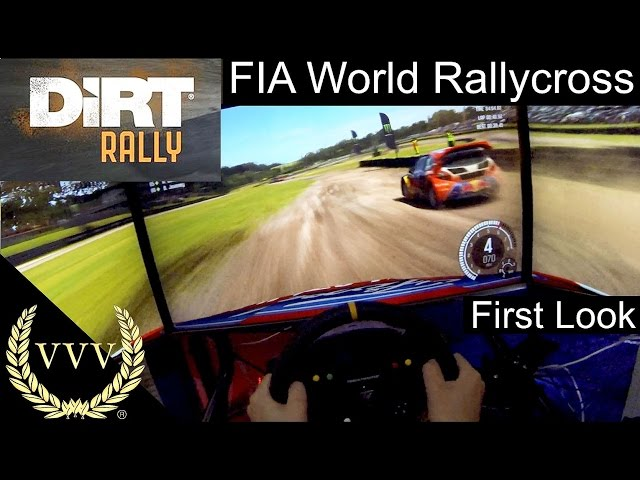 Dirt Rally: FIA World Rallycross First Look