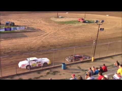 Butler Motor Speedway Street Stock Heat #2 7/15/17
