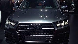 Audi Q7(2015) Женева Часть 1.