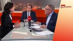 """Erster Coronavirus-Fall in der Schweiz — Thomas Aeschi und Regine Sauter im """"TalkTäglich"""""""