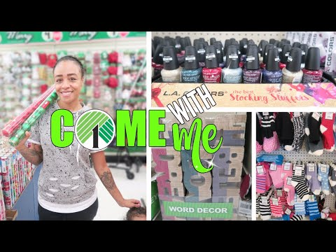 Come With Me to Dollar Tree! Stocking Stuffers, Decor + More!