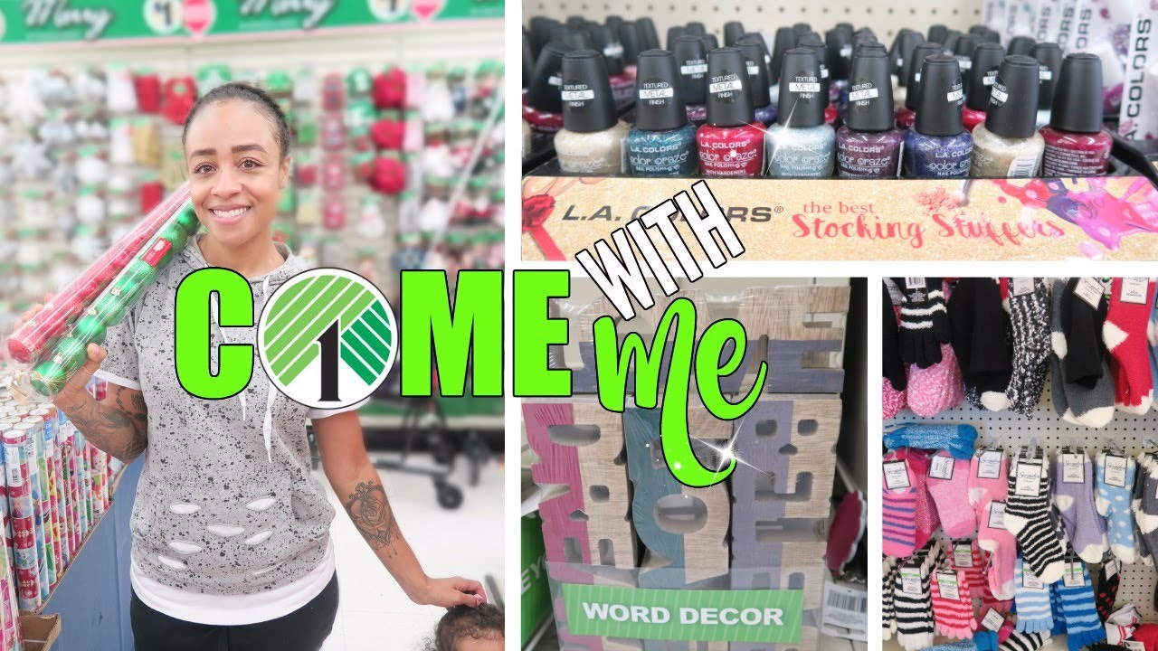 Come With Me to Dollar Tree! Stocking Stuffers, Decor + More! - YouTube