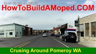 Crusing Around Pomeroy WA How To Build a Motorized Bike Part 33