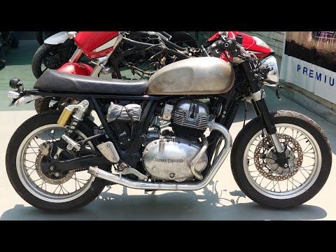 Royal Enfield Interceptor 650 Fitted With Ktm Duke 390 Suspension