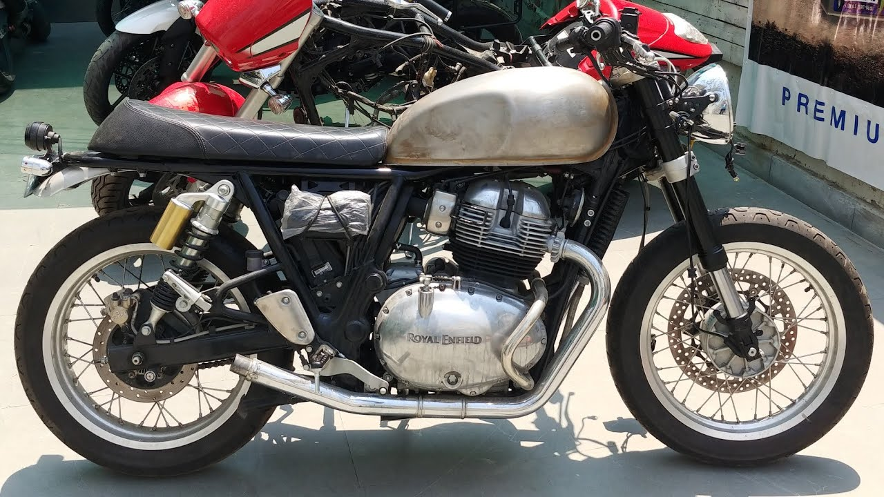 Royal Enfield Interceptor 650 Fitted With KTM Duke 390