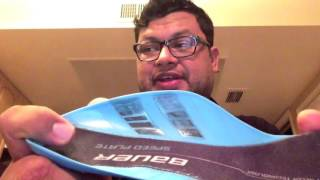 Bauer Speed Plate Hockey Insole Review