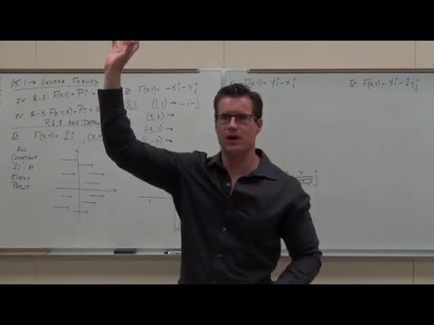 Calculus 3 Lecture 15.1:  INTRODUCTION to Vector Fields (and what makes them Conservative)