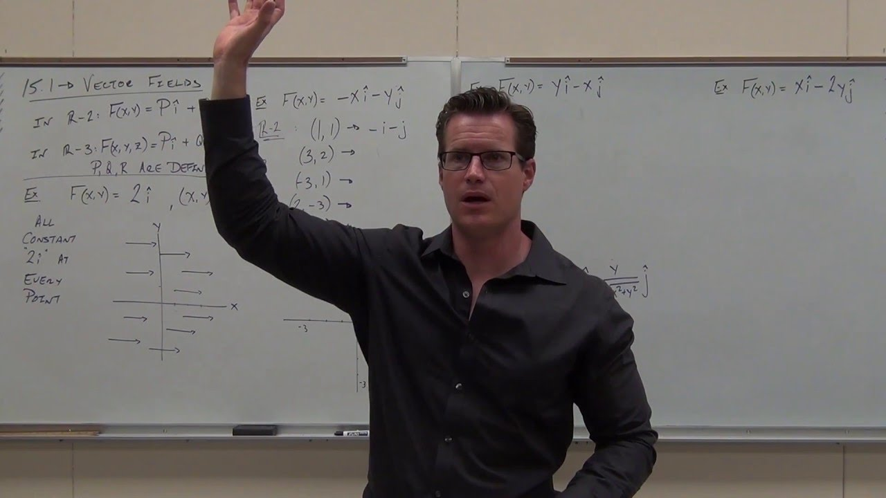 calculus 3 lecture 15 1 introduction to vector fields and what