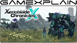 Xenoblade Chronicles X: On-foot Battles & Skell Exploration at Morning, Day, & Night