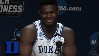 Zion Williamson: Basketball Gods Had Our Back Tonight