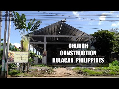 Church Construction Project Gaya Gaya, Bulacan, Philippines - Update