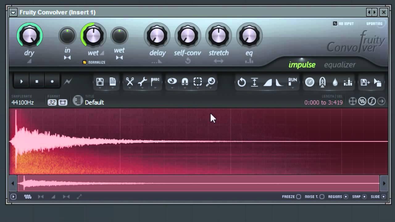 FL Studio Convolver | Impulse Response Editing Tools Two (6 of 9)