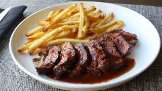 Butcher's Steak (aka Hanger Steak) - How to Trim and Cook Butcher's Steak