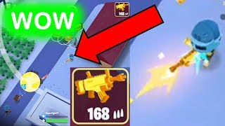 Playing Battlelands Royale with the Legendary Golden SCAR!