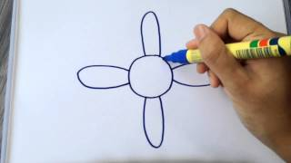 How to draw Daisy Flower