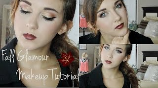 Fall Glamour | Makeup Tutorial Thumbnail