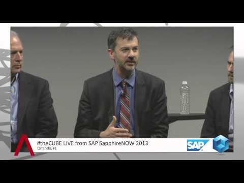 Mobile Press Conference - SAP Sapphire 2013 - theCUBE